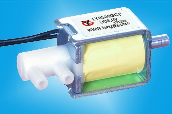 微型常闭电磁阀LY0520GCF